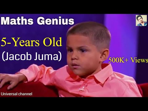 worlds got talent maths genius 5 years old boy-Viral video