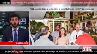 Baixar Málaga 24h TV - PSOE promete bajar la cotización a la Seguridad Social y el IRPF de autónomos