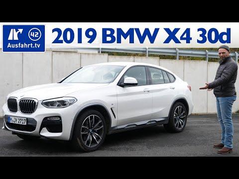 2019 BMW X4 xDrive30d M Sport (G02) - Kaufberatung, Test deutsch, Review, Fahrbericht Ausfahrt.tv