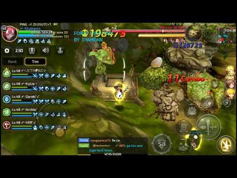 Sea Dragon Nest Stage 5 (Dragon Nest M) Conqueror Team