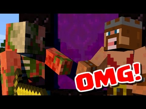 Minecraft attack of the zombie pigmen minecraft - Zombie style minecraft ...