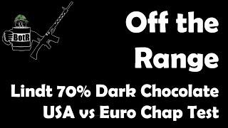 Lindt 70% Dark Chocolate Blind Taste Test: USA Vs Euro Versions