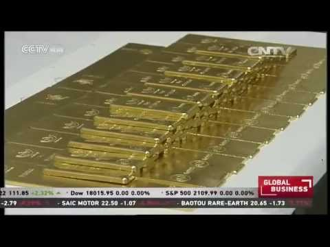 China is world's largest gold producer and consumer