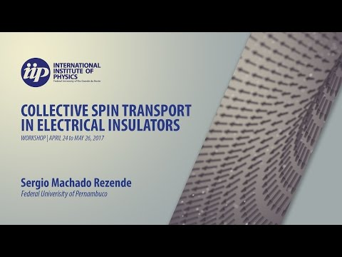 Spin Seebeck effect and spin transport in magnetic metals and insulators - Sergio Machado Rezende