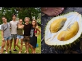 FREE DURIAN at Chanthaburi FRUIT LUCK