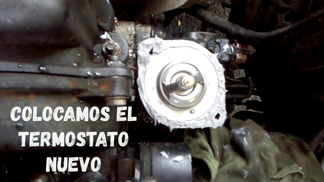 Reemplazo Termostato Hyundai Accent 1 5 Youtube