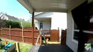 Cedar Privacy Panel Time Lapse - Kanata Deck Project