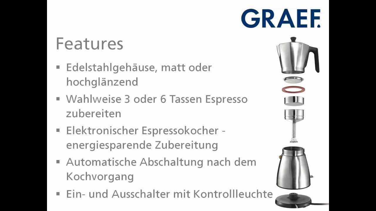 Graef Economic EM80 elektromos kotyogós kávéfőző | Olcso.hu