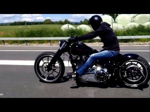 harley davidson breakout softail custom best umbau youtube. Black Bedroom Furniture Sets. Home Design Ideas