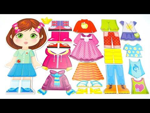 Игровой набор Магнитные Одевашки  Игрушки для детей