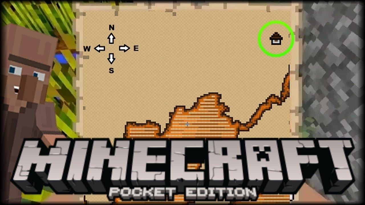 Mapa Del Tesoro Minecraft.El Mapa Del Mapa Del Tesoro Nunca Antes Visto Semillas Para Minecraft Pe