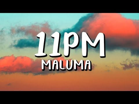 Maluma – 11PM  (Letra/Lyrics)