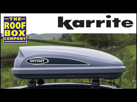 Karrite Odyssey 325 Roof Box How To Fit On Steel Roof
