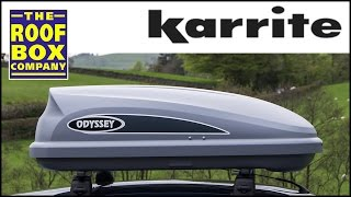 Karrite Odyssey 325 roof box - How to fit on steel roof bars