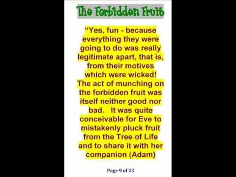 The Forbidden Fruit by Joseph M. Luguya Dec 2011.wmv