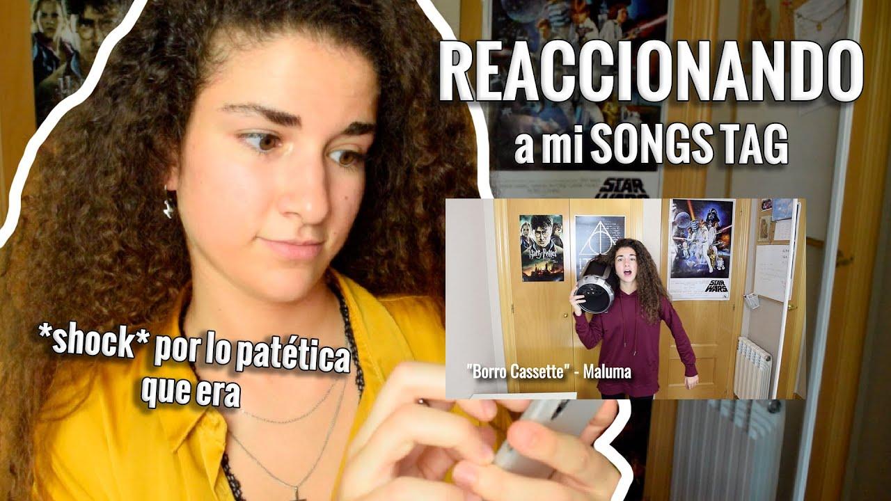 REACCIONANDO A MI PATÉTICO SONGS TAG