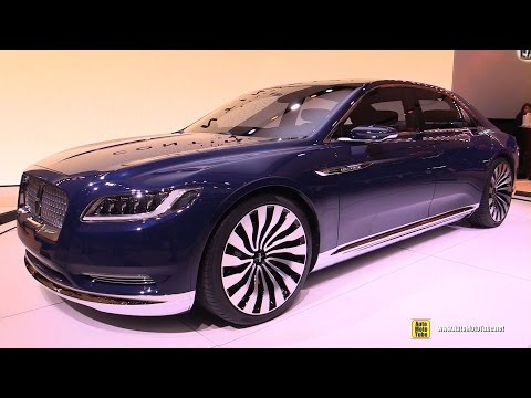 Lincoln Continental Concept - Exterior and Interior Walkaround - 2015 New York Auto Show