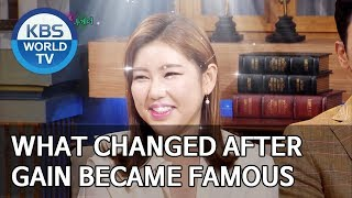 What changed after Gain became famous [Happy Together/2019.08.15]
