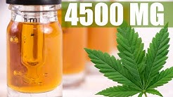 4500 MG! The Best Way To Make Cannabis Oil