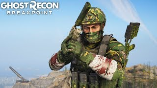 Ghost Recon Breakpoint BEHIND ENEMY LINES! Ghost Recon Breakpoint Free Roam