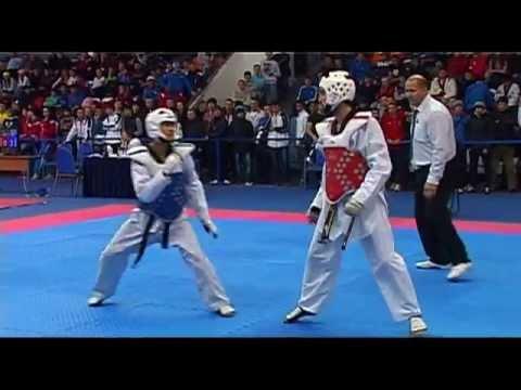Чемпионат России по тхэквондо 2012. Taekwondo WTF 54кг.