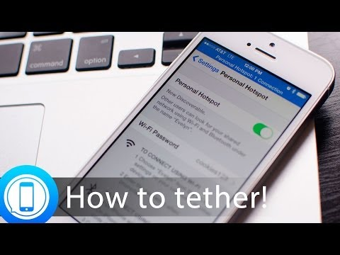 USB vs. Bluetooth vs. Wi-Fi: The best way to tether to your iPhone or iPad!