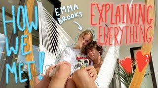 Explaining Everything In Our Relationship | Zack Lugo & Emma Brooks