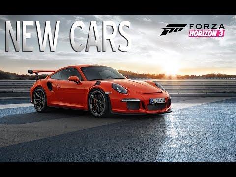 Forza Horizon 3 - Upcoming DLC Cars   LEAKED