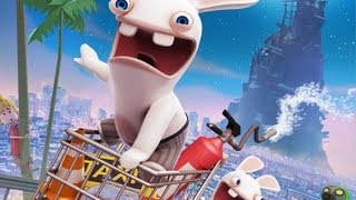 CGRundertow RABBIDS GO HOME for Nintendo Wii Video Game Review