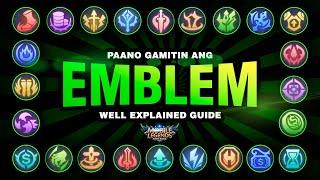 PASSIVE EMBLEM TALENTS | Paano ba gumagana ito? | Tips and Guides |  Cris DIGI | MOBILE LEGENDS
