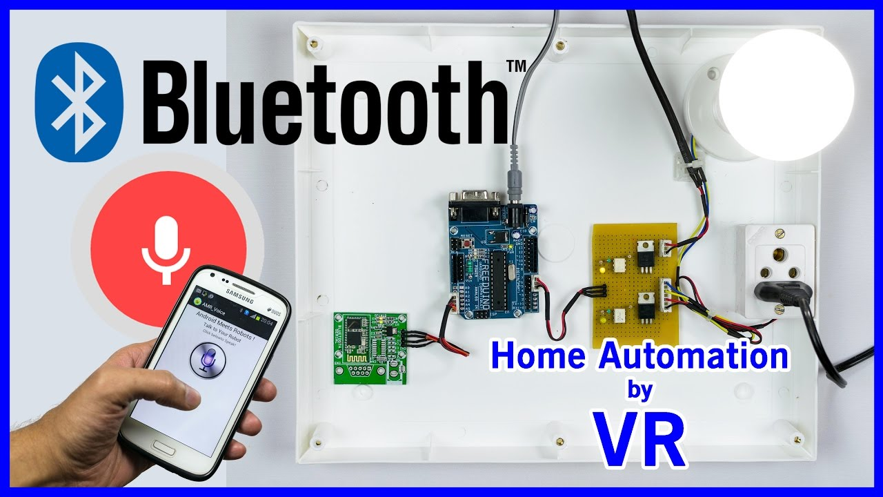 Fabulous Arduino Based Home Automation Using Bluetooth Android Smartphone &AU42