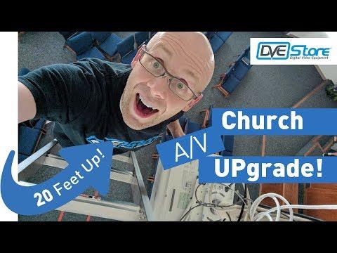 Church Audio & Projector Upgrade: Sennheiser, Gefen, Sony & RODE (Phase 1)
