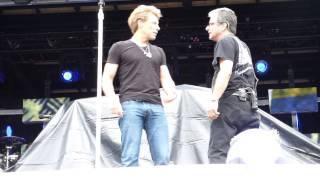 Bon Jovi soundcheck @Metlife Stadium July 25 2013