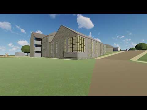 KCBA / UDSD - Aronimink Elementary School – Exterior Animation