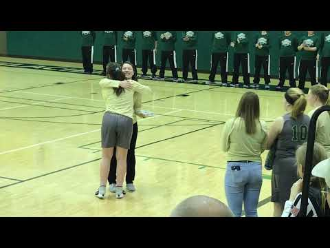 Haines High School Senior Night 2019 - Marissa Haddock