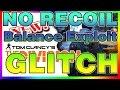 NEW! NO RECOIL Glitch   The Division   Recoil Glitches   Balance Exploit   TALENT   XBOX PC PS4