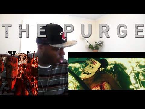 The Purge: Election Year - Official Trailer 2 (HD) REACTION!!!   KISS ME I'M KRAY-KRAY!!!