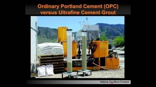 Webinar: Choose Wisely: Cement Grouts, Chemical Grouts, or Both