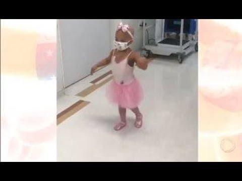 Menina de 2 anos é salva após transplante de medula por doador sem parentesco