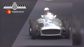 Mercedes at Goodwood Festival of Speed 2012 Videos