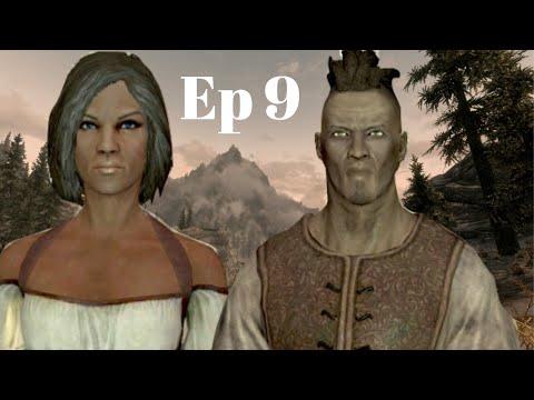 Let's Play The Elder Scrolls V: Skyrim - Ep 9