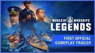 WORLD OF WARSHIPS : Legends - New CONSOLE Gameplay Trailer 2018 (PS4 & XB1) HD