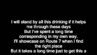 Interpol_Obstacle 2  lyrics