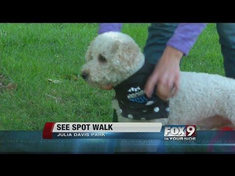 See Spot Walk in Julia Davis Park
