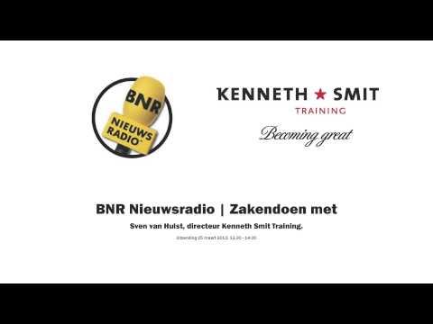 BNR Nieuwsradio | Zakendoen met .. Sven van Hulst