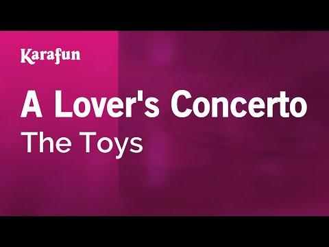 Karaoke A Lover's Concerto - The Toys *
