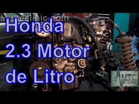 Honda Motor 2.3 Litros - YouTube