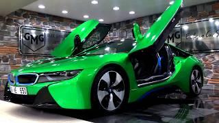3 FARKLI BMW i8 KAPLAMA UYGULAMASI (GMG GARAGE)