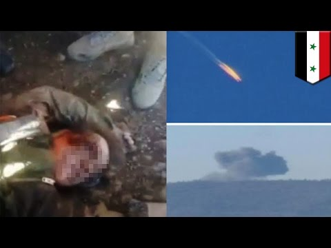 Russian jet in Syria: Turkey shoots down Russian Su-24, pilot killed by Syrian rebels - TomoNews
