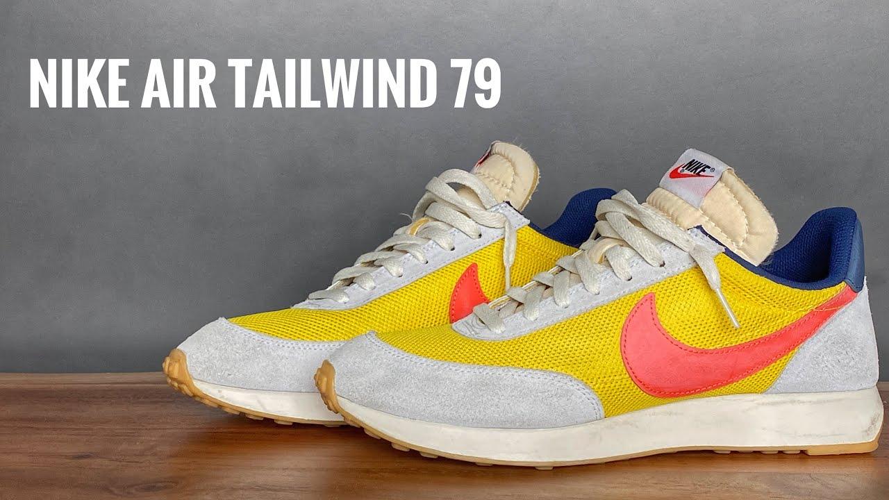 nike air tailwind 79 yellow